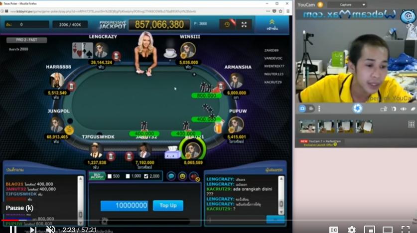 Meja 8!! Meja Panas para master poker online